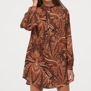 Richard Allan x H&M Paisley Shirt Dress (size: 12)